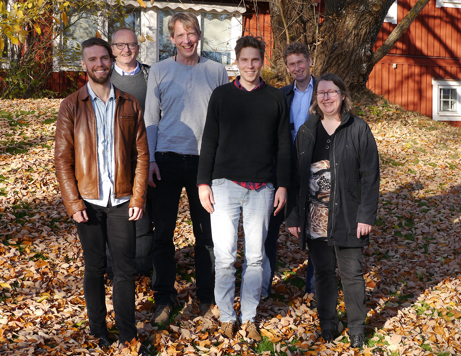 First meeting of the review team in Novbember 2015. From left: Neal Haddaway, Brian Kronvang, Sönke Eggers, Jonas Josefsson, Colin Brown och Jaana Uusi-Kämppä. Nicola Randall is not pictured. Photo: Sif Johansson